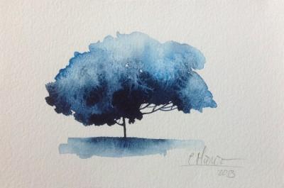 Árbol solitario 007 | Carmen Muruve
